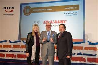 Specialist Services Award Winner: Dynamic International Freight Services