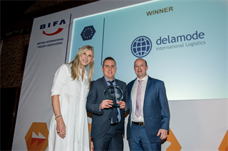 European Logistics Award Winner: Delamode