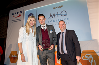 Extra Mile Award Winner: MIQ Logistics