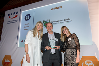 Ocean Services Award Winner: Greenshields Cowie & Co