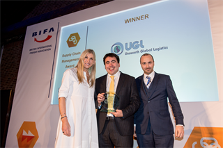 Supply Chain Management Award Winner: Unsworth Global Logistics