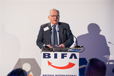 BIFA President, Sir Peter Bottomley MP opens the 28th awards ceremony