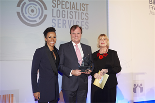 Project Forwarding Award Winner: Specialist Logistics Services Ltd