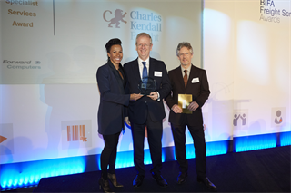 Specialist Services Award Winner: Charles Kendall Freight Ltd