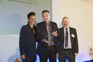 Staff Development Award Winner: Hemisphere Freight Services Ltd